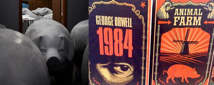 orwell header Farm der Bücher