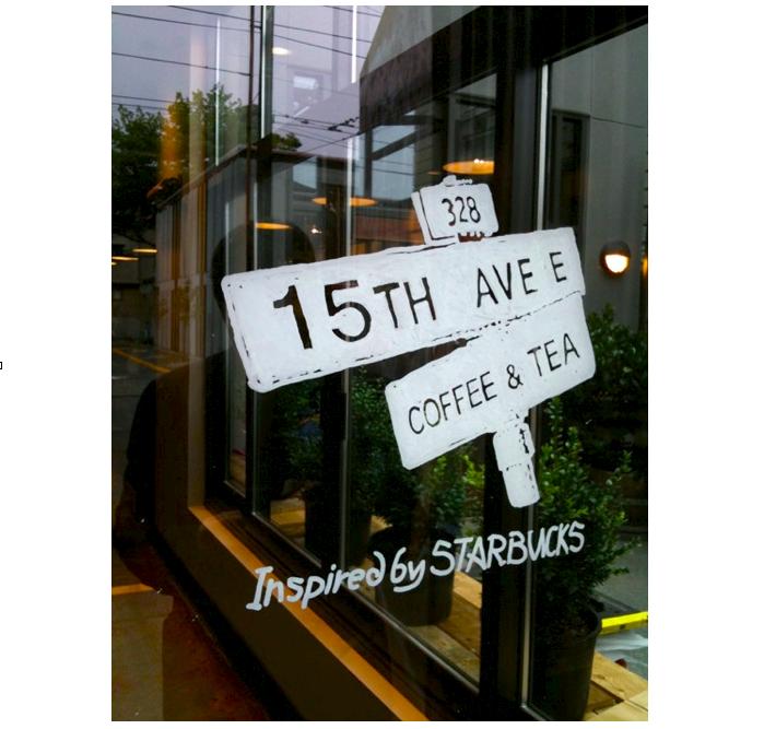 Bild 8 Der Anti Starbucks ist... Starbucks