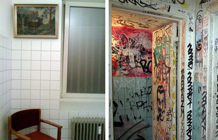 toilets A tale of two cities: Wasserlassen