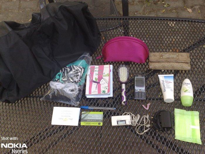 Whats Nikki Inhalt 210809 Whats in your bag, Nikki Ermi?