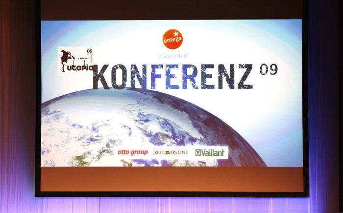 utk mainscreen In die Zukunft geschaut   Utopia Konferenz 09