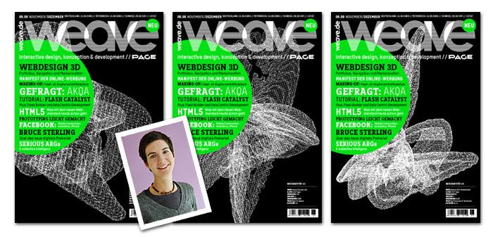 weave cover WEAVE   Magazin im Gespräch