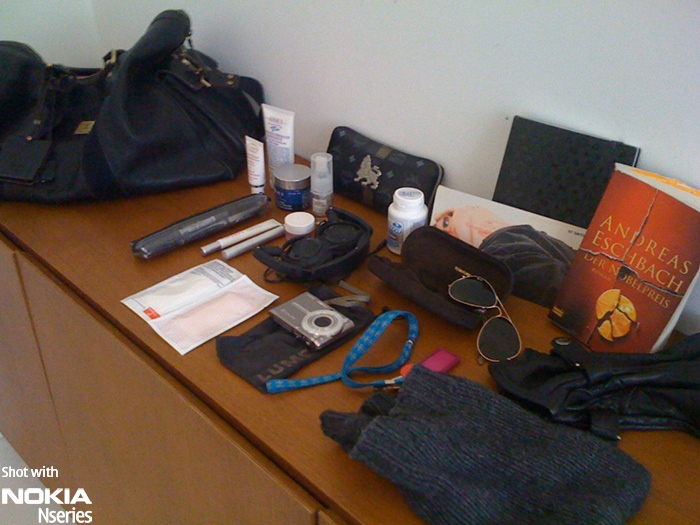 Whats in your bag, Stephen Seifert?