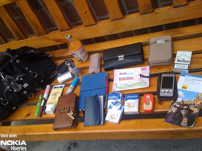 Whats in your bag, Jennifer Bittner?