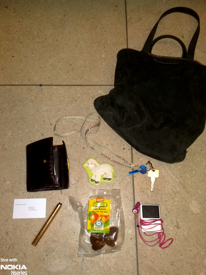 Whats joanna inhalt 03März10 Whats in your bag, Joanna Ratajczak?