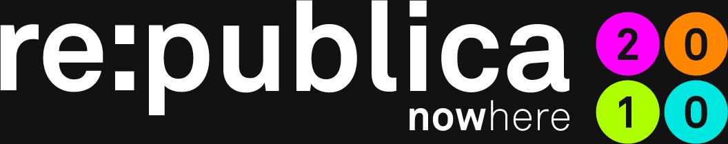 republica10 logo nowhere black  re:publica 2010   now here oder nowhere ?