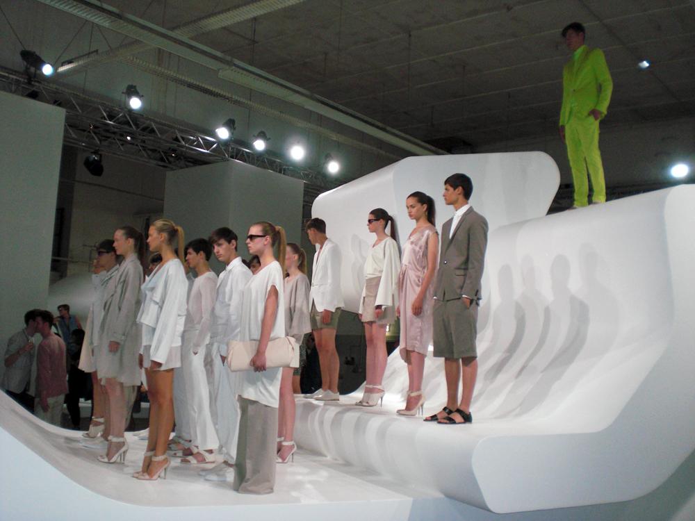 Fashion Week Berlin   Calvin, Kallam, Kruger