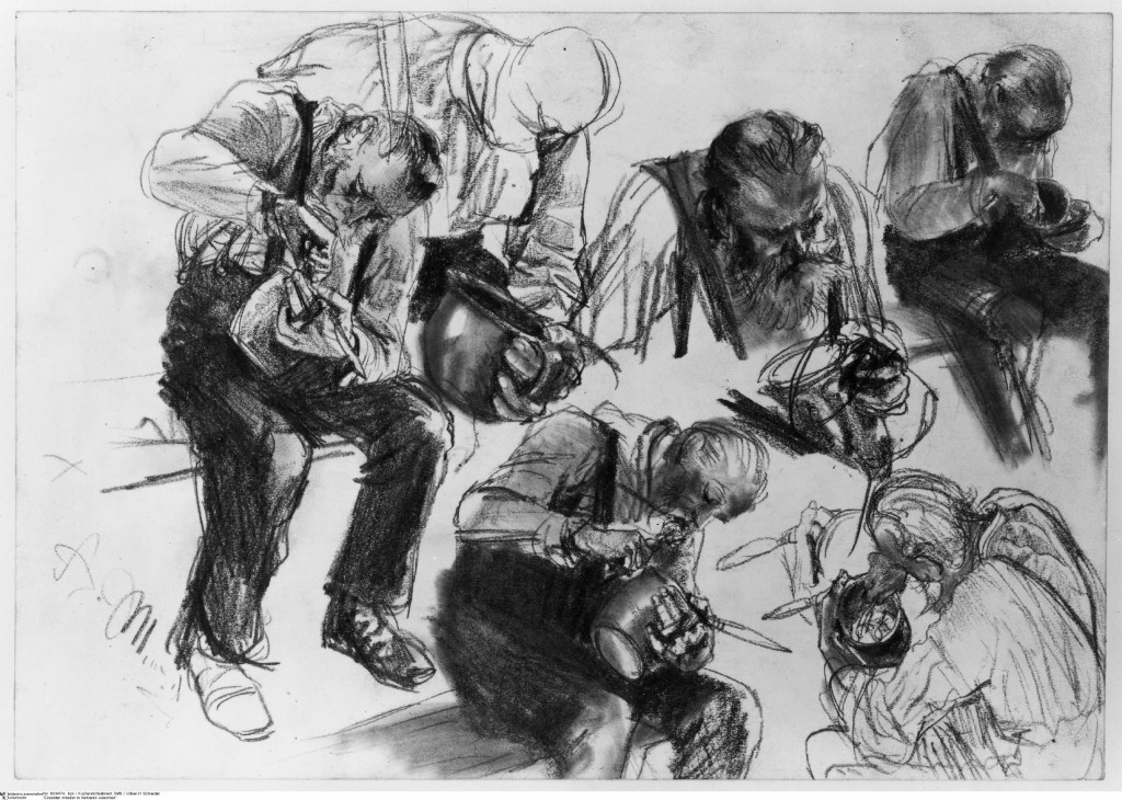 Image 6 Essender Arbeiter in mehreren Ansichten 1024x730 6. Berlin Biennale – Wirklich das, was draußen wartet?