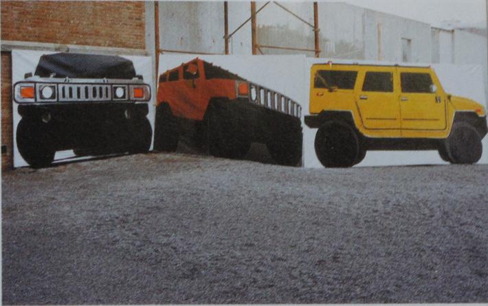 SUV Frau und Vehikel: SUV