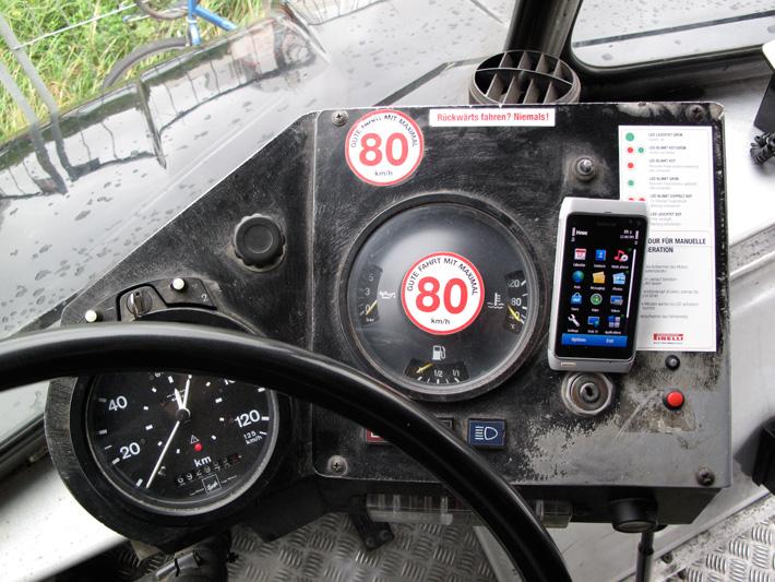 nokia bus1 Zurück in die Zukunft   N8 Roadtrip