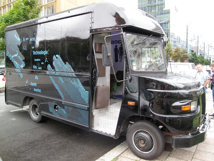 nokia bus4 Zurück in die Zukunft   N8 Roadtrip