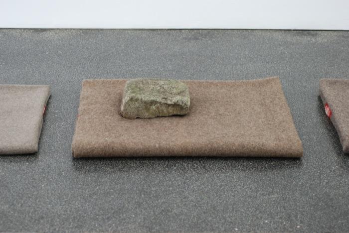 Helen Mirra Mind of a Rock 2009 detail 1 Eröffnungssport – zurück zur Natur!