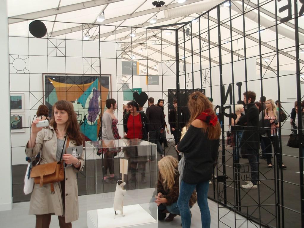 Image 2 Reizueberflutung 1024x768 Frieze Art Fair 2010   Processes of Construction
