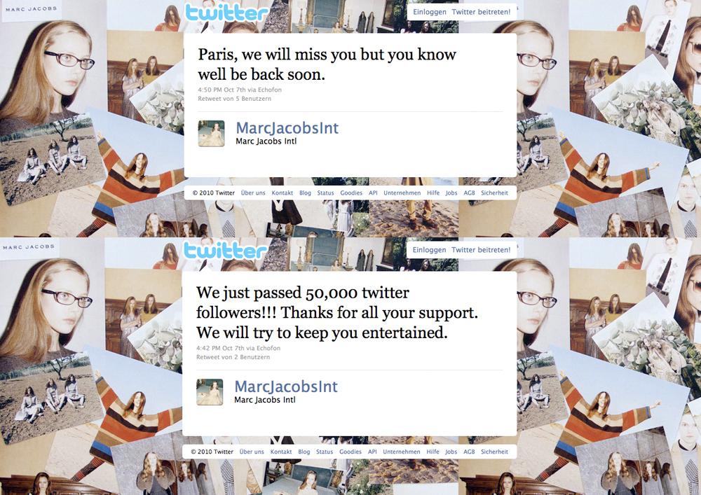 marc1 Karl zwitschert, Stefano auch   Modemacher auf Twitter