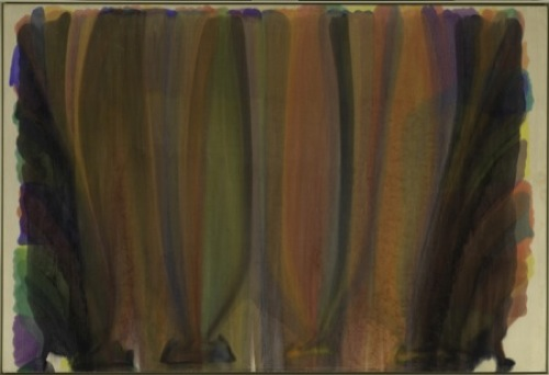 Image 2 color fields Morris Louis 450 500 Colour Fields — Farbfelder im Guggenheim