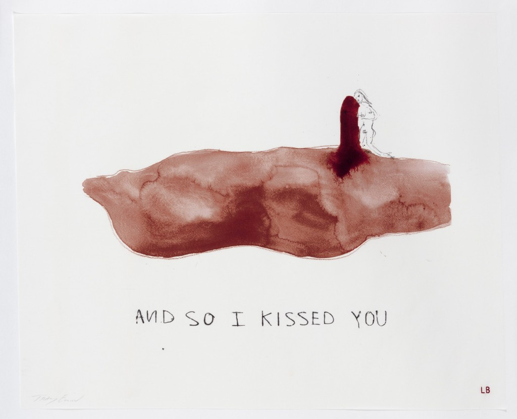 Image 2 And so I kissed you Louise Bourgeois Tracey Emin 2009 2010 1024x830 Louise Bourgeois, Tracey Emin: Do Not Abandon Me