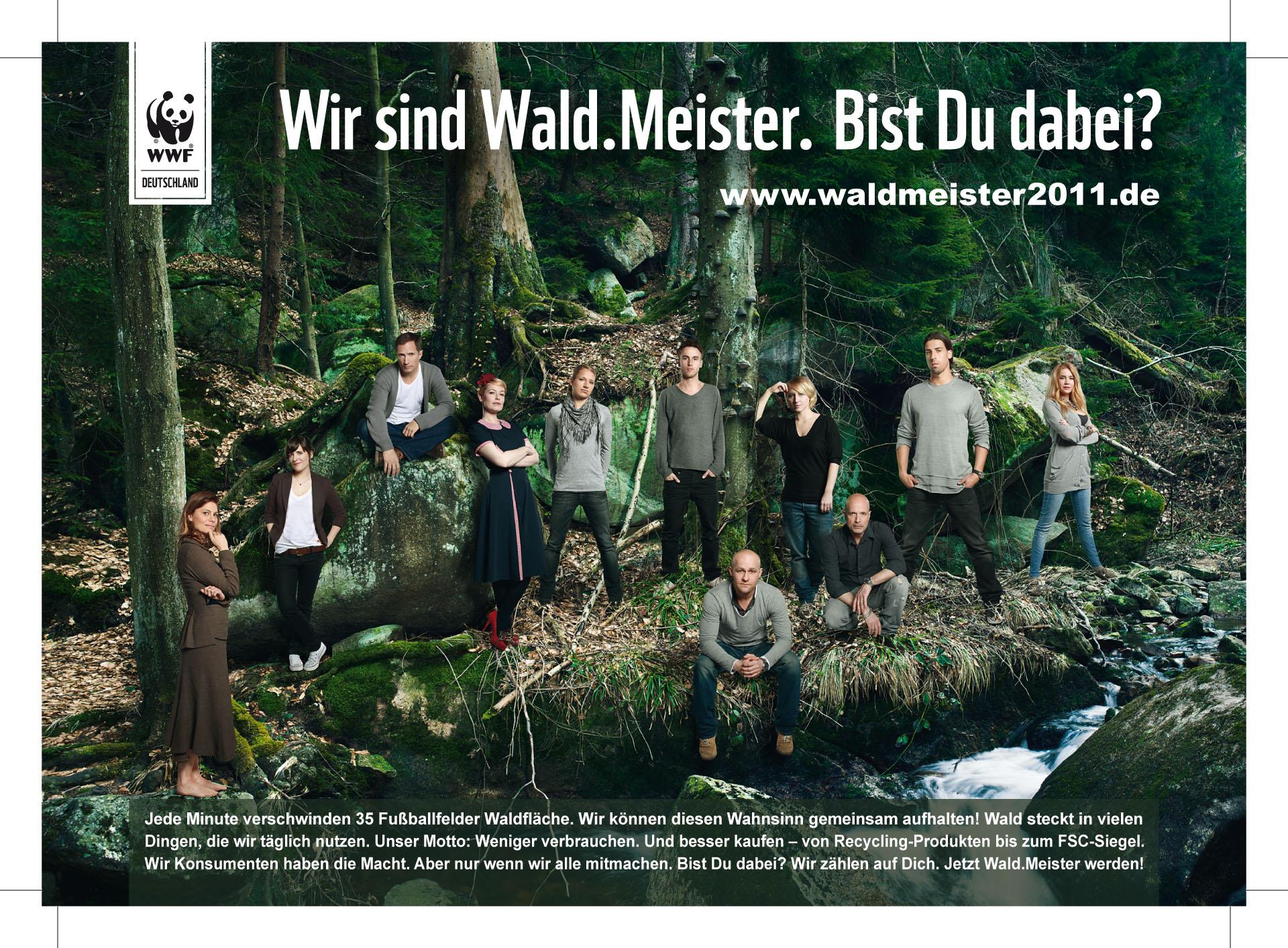 WWF WaldMeister DINA6 print 1 Deutschland wird Wald.Meister 2011