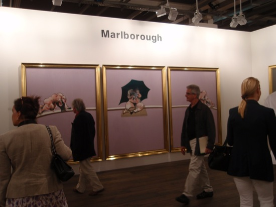 1 Francis Bacon at Marlborough SH 550 Art | 42 | Basel  – Ausschnitt eines langen Rundganges