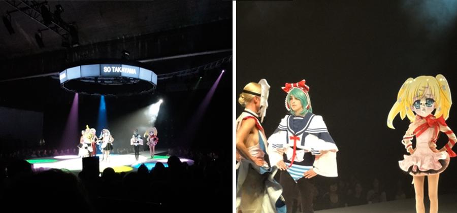 Antwepen 01 so takayama Show/Off 2011 –Abschluss Show aus Antwerpen