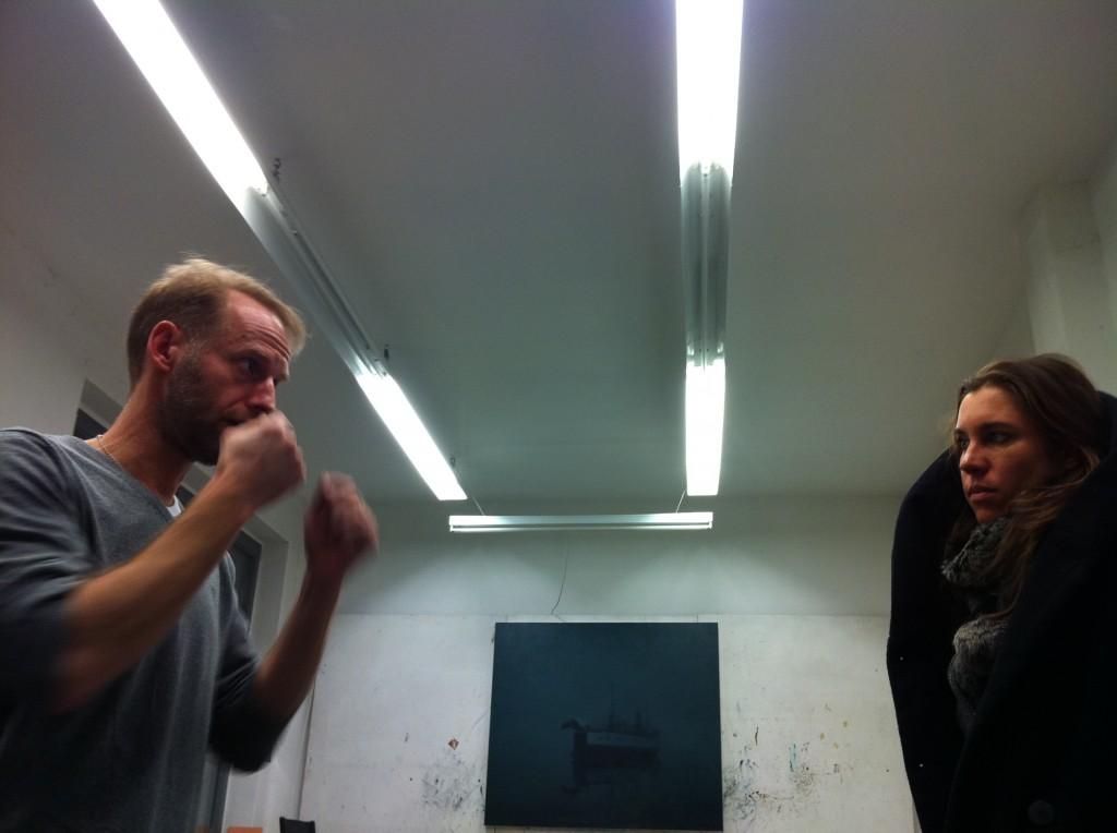 IMG 0186 1024x764 54. Biennale   Bestandsaufnahme von Jorinde Voigt + Ulrik Møller