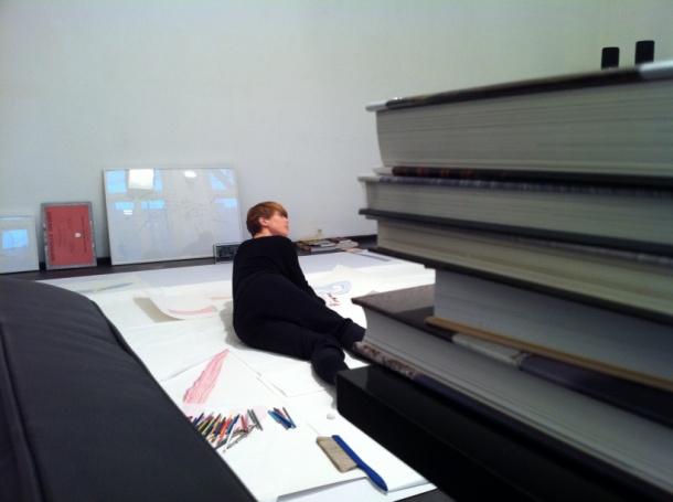 Jorinde Voigt Atelier 54. Biennale   Bestandsaufnahme von Jorinde Voigt + Ulrik Møller