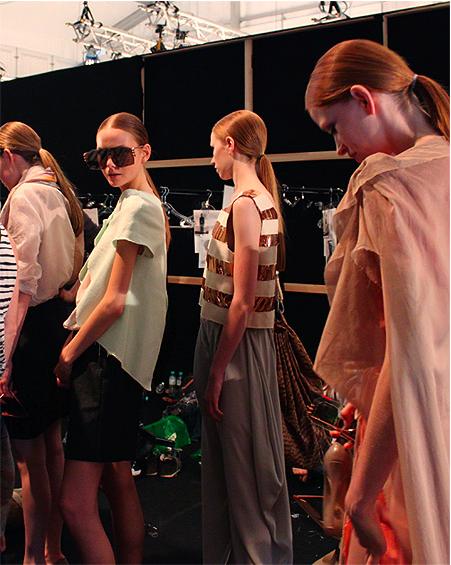 Bild 22 Backstage @ MBFW: Designer for Tomorrow