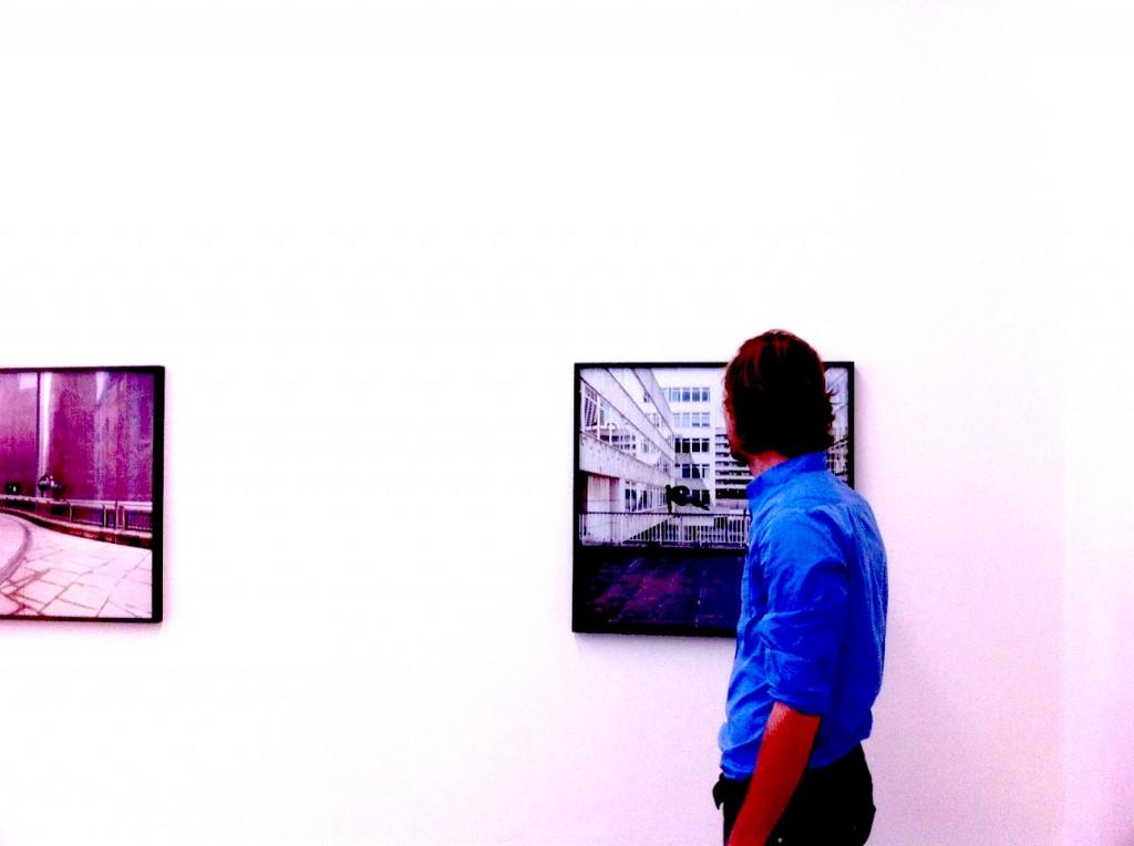 Künstler Sebastian Stumpf 1024x764 Vormittag zwischen Trance und Kunst. Galerie Thomas Fischer.