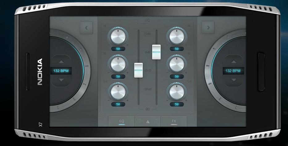 dj ScratchOn   DJ App für Symbian 3