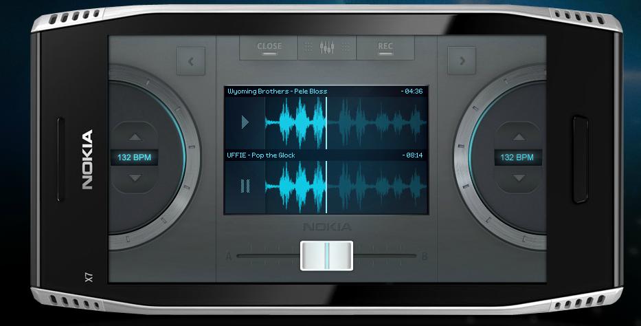 dj2 ScratchOn   DJ App für Symbian 3
