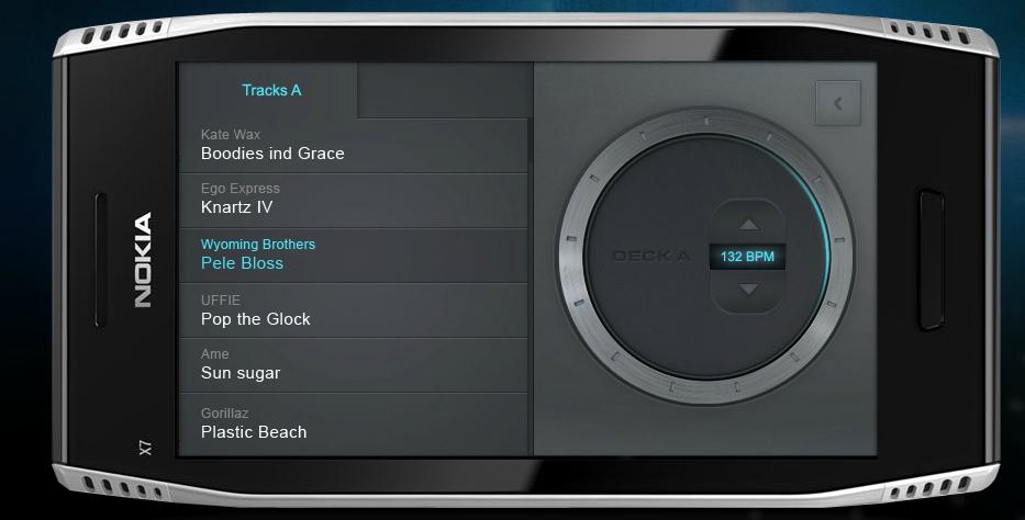 dj3 ScratchOn   DJ App für Symbian 3