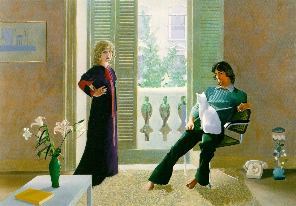 hockney.clark percy 1024x712 Celia Birtwell   Das Buch