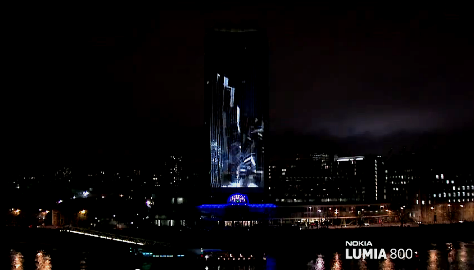 Bild 5 Nokia lights up London   Das Lumia 800 live