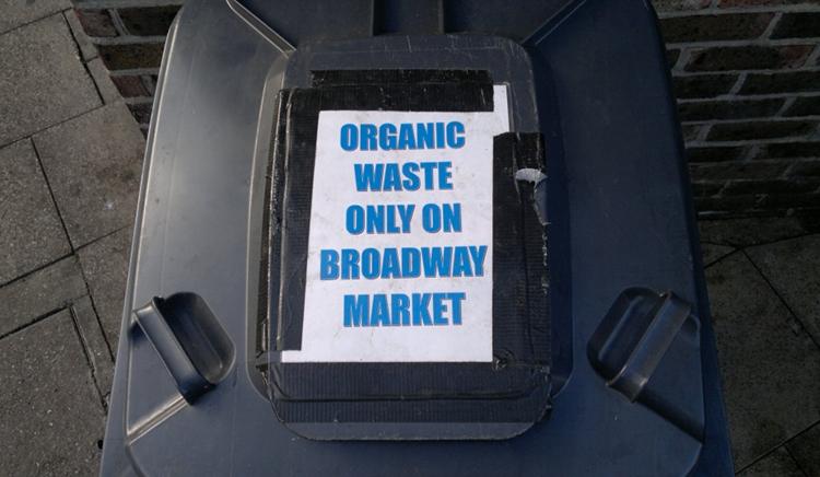 organic waste Broadway Market   dickes Bionade B